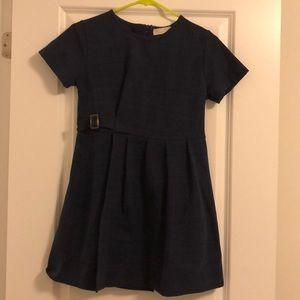 😍3/30 Zara kids navy dress😍